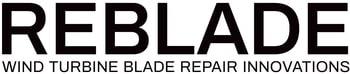 Wind turbine blade repair - Reblade logotype
